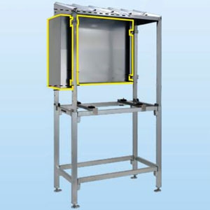 日晴金属 PCキャッチャー 防雪パネル PC-RJ30用 ZAM®鋼板製 《goシリーズ》 PE-RJ30-BP