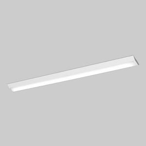 パナソニック 【お買い得品 10台セット】 一体型LEDベースライト 《iDシリーズ》 40形 直付型 Dスタイル W150 一般タイプ 5200lmタイプ 調光タイプ Hf32形定格出力型器具×2灯相当 昼光色 XLX450AEDZLR9_set