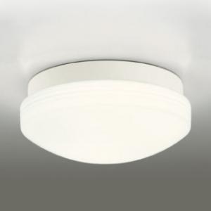 オーデリック LEDバスルームライト FCL30W相当 防雨・防湿型 壁面・天井面・傾斜面取付兼用 樹脂コーティング 本体色:白色 電球色タイプ OW269015LD