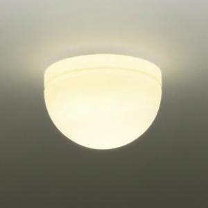DAIKO LED小型シーリングライト 白熱灯60W相当 非調光タイプ 天井付・壁付兼用 電球色タイプ DCL-37867:電材堂