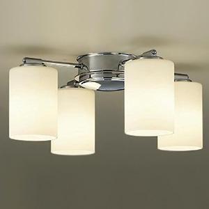 DAIKO LEDシャンデリア ランプ付 白熱灯60W×4灯相当 非調光タイプ 6W×4灯 口金E17 電球色タイプ DCH-38220Y