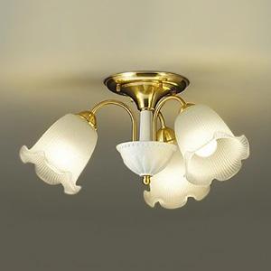 DAIKO LEDシャンデリア ランプ付 白熱灯60W×3灯相当 非調光タイプ 4.9W×3灯 口金E26 電球色タイプ DCH-39454Y
