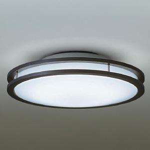 DAIKO LED小型シーリングライト 明るさFHC28W相当 非調光タイプ 昼白色タイプ ダークブラウン DCL-39511W