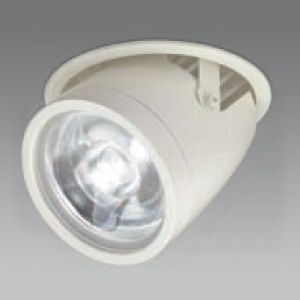 DAIKO LEDダウンライト 白色 CDM-T70W相当 埋込穴φ125mm 配光角7度 電源別売 ダウンスポット ユニバーサルタイプ LZD-92553NW