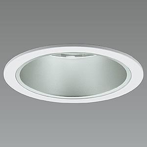 山田照明 LED一体型軒下ダウンライト ベースタイプ 防雨型 調光対応 ダイクロハロゲン50W相当 白色 配光角度26° 天井切込穴φ75mm 半鏡面コーンタイプ DD-3366-W