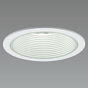 山田照明 LED一体型軒下ダウンライト ベースタイプ 防雨型 調光対応 ダイクロハロゲン50W相当 電球色 配光角度27° 天井切込穴φ75mm 白バッフルタイプ DD-3368-LL