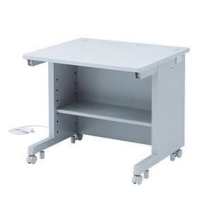 サンワサプライ GEデスク 平机タイプ W800×D800mm 電源・ケーブル収納機能付 GE-881