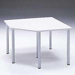 サンワサプライ コーナーテーブル W1200×D1200mm 連結金具2個付 MEA-CT8