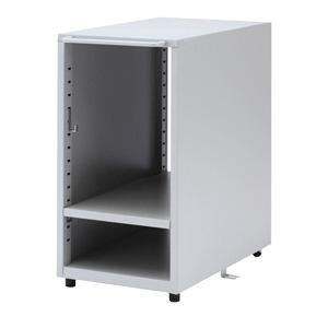 サンワサプライ CPUボックス ケーブルフック(2個)・床固定金具付 SH-FDCPU2