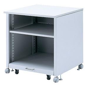 サンワサプライ 大型レーザープリンタスタンド 下段棚スライド式 総耐荷重100kg+下棚50kg LPS-T108N