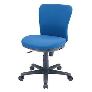 サンワサプライ オフィスチェア 低ホルムアルデヒドチェア 座面耐荷重量80kg ブルー SNC-021KBL