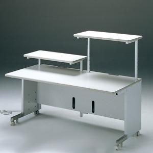 サンワサプライ サブテーブル 2段式拡張用 W700×D400mm 耐荷重30kg CAI-S07
