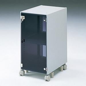 サンワサプライ CPUボックス 独立・固定両用 総耐荷重60kg 鍵付きアクリル扉付 CAI-CP7N