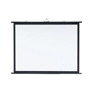 サンワサプライ プロジェクタースクリーン 壁掛け式 三脚対応 80型相当 アスペクト比4:3 PRS-KB80