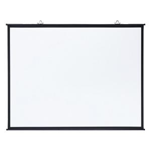 サンワサプライ プロジェクタースクリーン 壁掛け式 三脚対応 100型相当 アスペクト比4:3 PRS-KB100