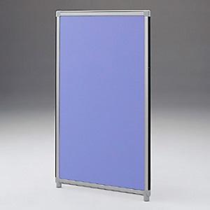 【受注生産品】 サンワサプライ パーティション 面ファスナー連結タイプ W600×H1300mm ブルー OG-136CG3006