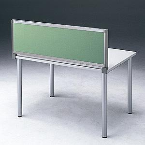【受注生産品】 サンワサプライ デスク用パーティション デスクパネル W700×H400mm グリーン OU-0470C3005