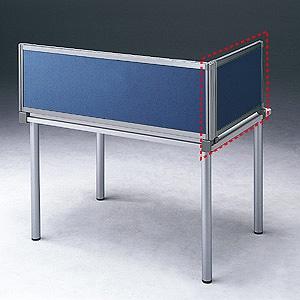 サンワサプライ デスク用サイドパーティション サイドパネルAタイプ W665×H400mm ネイビー OU-04SDCA3009