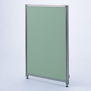 【受注生産品】 サンワサプライ パーティション Dパネル W1100×H1300mm グリーン OU-1311C3005