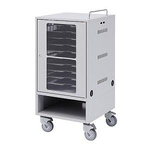 サンワサプライ タブレット収納保管庫 10台収納 鍵付き扉・鍵付バックパネル 総耐荷重40kg CAI-CAB23