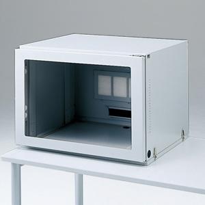 サンワサプライ 防塵ラック 17型CRT+ミドルタワーCPU用 総耐荷重100kg MR-FA17CMN