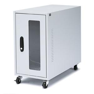 サンワサプライ CPU用簡易防塵ボックス パソコン本体・小型LAN機器用 W300×D650×H600mm 総耐荷重50kg MR-FACP2N