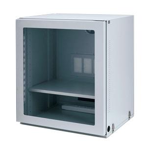 サンワサプライ マルチ防塵ラック 液晶ディスプレイ+省スペースCPU+小型機器収納用 総耐荷重100kg MR-FAMULTN
