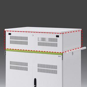 【受注生産品】 サンワサプライ 追加収納ボックス タブレット収納保管庫用 44台収納タイプ用 CAI-CABBOX44