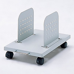 サンワサプライ パソコン本体設置用CPUスタンド 1台設置用 取付幅135~235mm無段階調節可能 耐荷重50kg CP-029