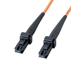 サンワサプライ MT-RJパッチケーブル 2芯タイプ マルチモード コア径50ミクロン MT-RJコネクタ-MT-RJコネクタ 1m HKB-MTMT5-1