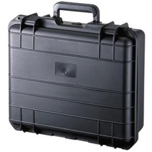 サンワサプライ ハードツールケース シングルタイプ 15.6インチワイド対応 PP樹脂製 鍵・密閉ダイヤル付 BAG-HD1