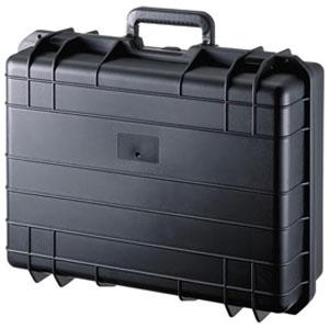 サンワサプライ ハードツールケース シングルタイプ 18インチワイド対応 PP樹脂製 鍵・密閉ダイヤル付 BAG-HD2