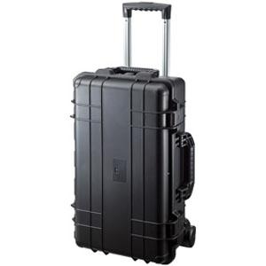 サンワサプライ ハードツールケース キャリータイプ シングルタイプ PP樹脂製 密閉ダイヤル付 BAG-HD3