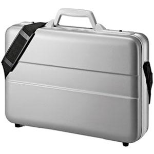 サンワサプライ ハードPCケース シングルタイプ 14インチワイド対応 ABS樹脂製 鍵付 BAG-ABS5N2