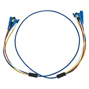 サンワサプライ ロバスト光ファイバケーブル 4芯タイプ シングルモード コア径9.2ミクロン SCコネクタ×4-SCコネクタ×4 5m HKB-SCSCRB1-05