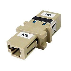 サンワサプライ 光アダプタ シングルモード用 光ファイバケーブル延長用 LCコネクタ-SCコネクタ HAD-LCSC-SM