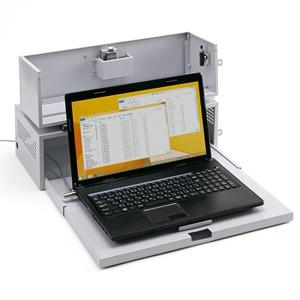 サンワサプライ ノートパソコンセキュリティ収納BOX オートロック式 SL-70BOX