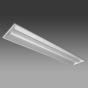 【受注生産品】 NEC 【お買い得品 10台セット】 LED一体型ベースライト 《Nuシリーズ》 40形 埋込形 下面開放形 190mm幅 2000lm 固定出力方式 FLR40×1灯相当 昼光色 MEB4102/20D4-N8_set