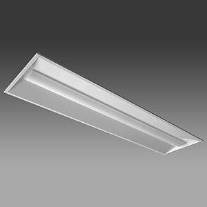 NEC 【お買い得品 10台セット】 LED一体型ベースライト 《Nuシリーズ》 40形 埋込形 下面開放形 300mm幅 4000lm 固定出力方式 FLR40×2灯相当 昼白色 MEB4104/40N4-N8_set