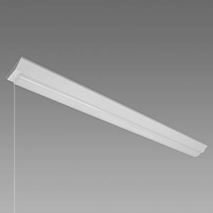 NEC 【お買い得品 10台セット】 LED一体型ベースライト 《Nuシリーズ》 40形 直付形 逆富士形 150mm幅 4000lm 固定出力方式 FLR40×2灯相当 昼光色 プルスイッチ付 MVB4104P/40D4-N8_set