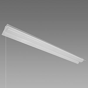 NEC 【お買い得品 10台セット】 LED一体型ベースライト 《Nuシリーズ》 40形 直付形 両反射笠形 4000lm 固定出力方式 FLR40×2灯相当 昼光色 プルスイッチ付 MAB4101P/40D4-N8_set