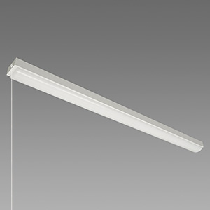 NEC 【お買い得品 10台セット】 LED一体型ベースライト 《Nuシリーズ》 40形 直付形 トラフ形 4000lm 固定出力方式 FLR40×2灯相当 昼白色 プルスイッチ付 MMB4101P/40N4-N8_set