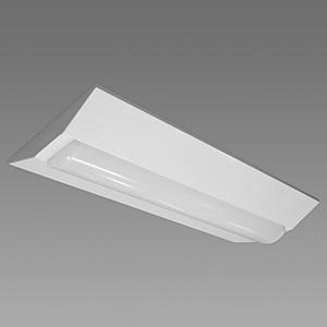 NEC 【お買い得品 10台セット】 LED一体型ベースライト 《Nuシリーズ》 20形 直付形 逆富士形 230mm幅 800lm 固定出力方式 FL20×1灯相当 昼白色 MVB2101/08N4-N8_set