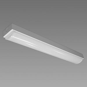 NEC 【お買い得品 10台セット】 LED一体型ベースライト 《Nuシリーズ》 20形 直付形 トラフ形 800lm 固定出力方式 FL20×1灯相当 昼白色 MMB2101/08N4-N8_set
