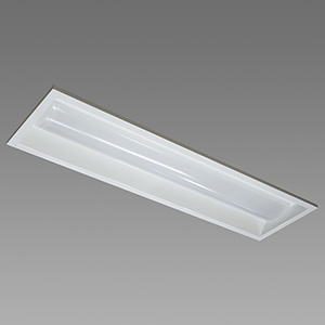 NEC 【お買い得品 10台セット】 LED一体型ベースライト 《Nuシリーズ》 20形 埋込形 下面開放形 150mm幅 1600lm 固定出力方式 FHF16高出力×2灯相当 昼白色 MEB2101/16N4-N8_set