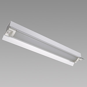 NEC 【お買い得品 10台セット】 LED一体型ベースライト 《Nuシリーズ》 20形 防雨・防湿形 直付形 両反射笠形 1600lm 固定出力方式 FHF16高出力×1灯相当 昼白色 MAB2102(MP)/16N4-N8_set