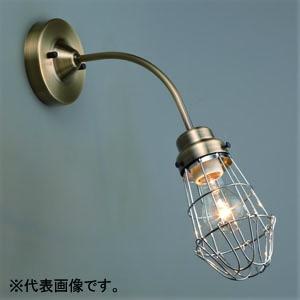 後藤照明 ブラケットライト ビス止めガード 電柱BK型 電球別売 E26口金 壁面取付専用 白塗装 GLF-3454WHX