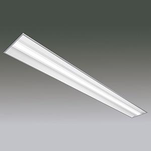 アイリスオーヤマ 一体型LEDベースライト 《LXラインルクス》 110形 埋込型 幅300mmタイプ 非調光タイプ 6400lmタイプ Hf86形×1灯定格出力型器具相当 昼白色 LX160F-62N-UK110T-W328