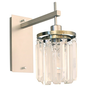 ディクラッセ ブラケットライト 《Berretta》 白熱ミニ球60W 電球色 口金E17 壁付・ビス固定式 LB6552CL