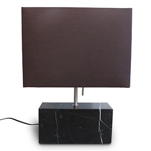 ディクラッセ LEDテーブルライト 《LED Marezzo》 白熱球60W相当 電球色 ブラック LT3721BK